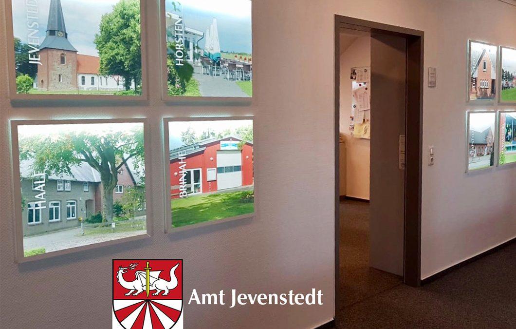 Beratung zu gestalterischen Maßnahmen und Außenauftritt für Amt Jevenstedt