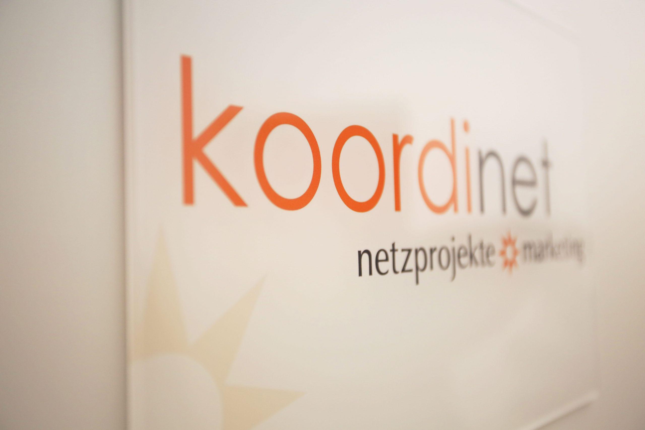 : Firmenlogo koordinet netzprojekte & marketing