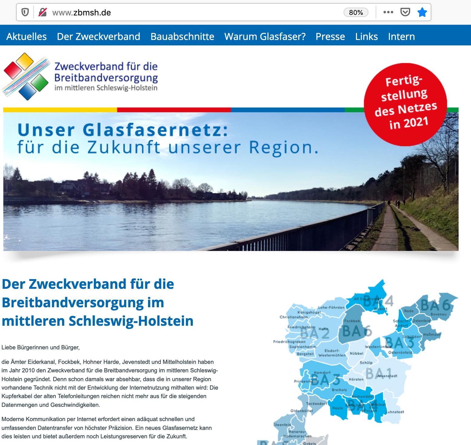 Website zbmsh.de